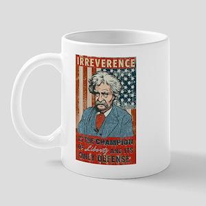 Mark Twain Irreverence Mug