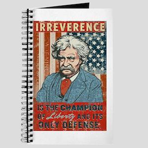 Mark Twain Irreverence Journal