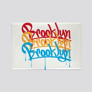 Brooklyn Colors Rectangle Magnet