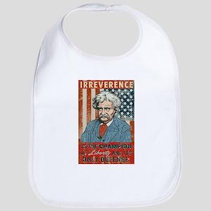 Mark Twain Irreverence Bib