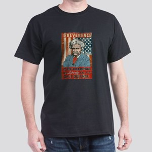 Mark Twain Irreverence Dark T-Shirt