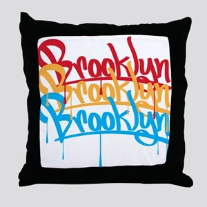 Brooklyn Colors Throw Pillow