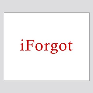 iForgot Small Poster