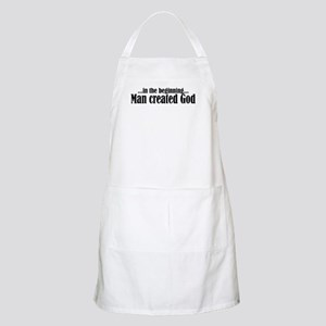 in the beginning BBQ Apron