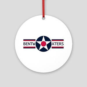 RAF Bentwaters Ornament (Round)