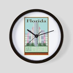 Travel Florida Wall Clock