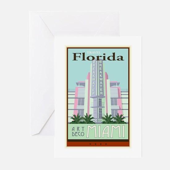 Travel Florida Greeting Cards (Pk of 20)