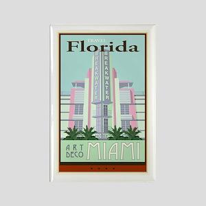Travel Florida Rectangle Magnet
