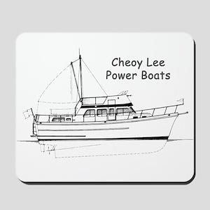 Cheoy Lee Power Boats Mousepad