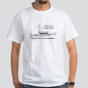 Cheoy Lee Power Boats White T-Shirt