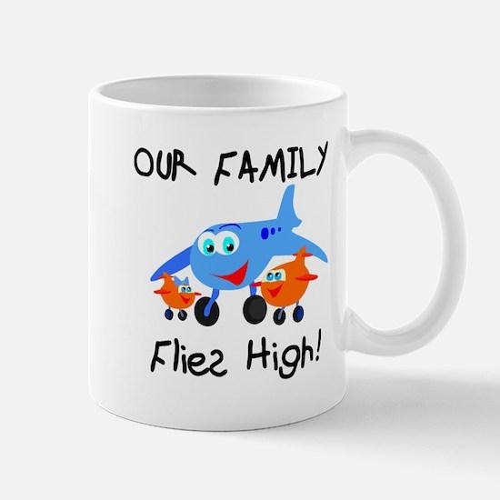 Our Family Flies High Mug