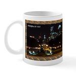 Night view of Philly. Mug