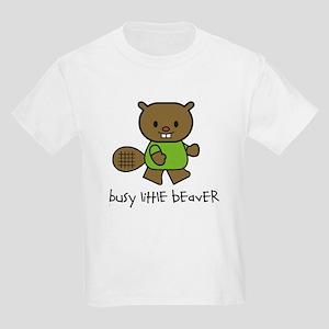 Busy Little Beaver Kids Light T-Shirt
