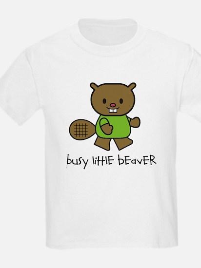 Busy Little Beaver T-Shirt