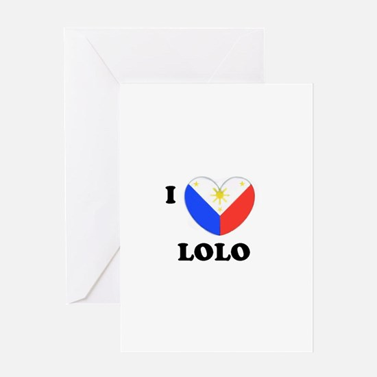 Cool Lola Greeting Card