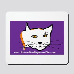 AHC White Cat Mousepad