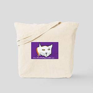 AHC White Cat Tote Bag