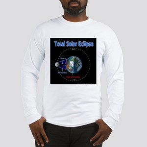 Total Solar Eclipse - 1, Long Sleeve T-Shirt