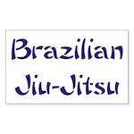 Brazilian Jiu-Jitsu Rectangle Sticker