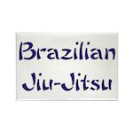 Brazilian Jiu-Jitsu Rectangle Magnet