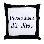 Brazilian Jiu-Jitsu Throw Pillow