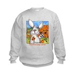 Cartoon Rabbits Kids Sweatshirt