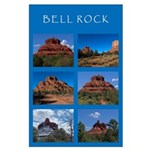 Bell Rock Collage Large Poster
