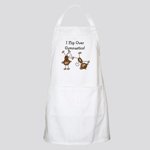 Flip Over Gymnastics BBQ Apron