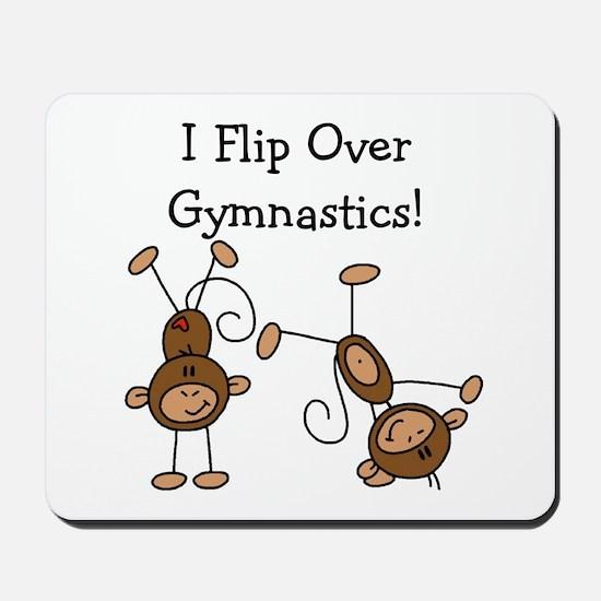 Flip Over Gymnastics Mousepad