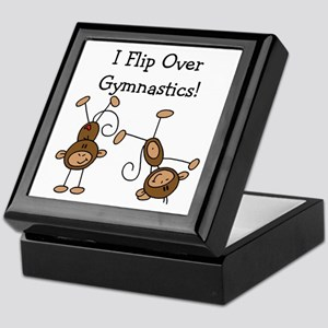 Flip Over Gymnastics Keepsake Box