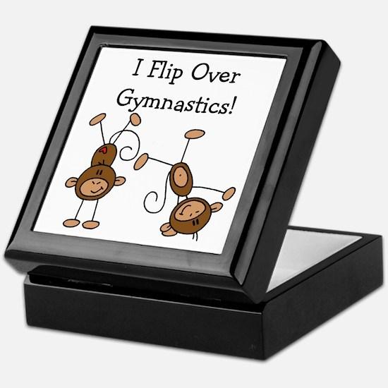 Flip Over Gymnastics Keepsake Box