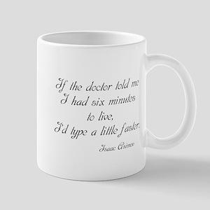 Isaac Asimov Quote Mug