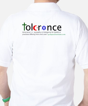 Golf Shirt w/ chest and back logo