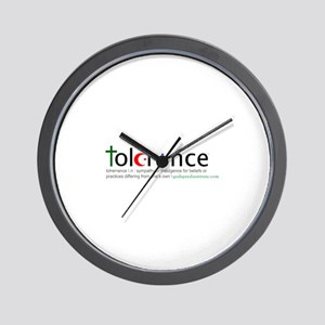 Tolerance Wall Clock