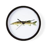 Muskellunge Wall Clock