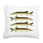 Muskellunge Square Canvas Pillow