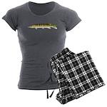 Muskellunge Women's Charcoal Pajamas