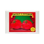 Produce Sideshow: Catsup Rectangle Magnet