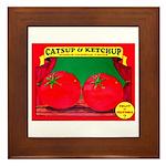 Produce Sideshow: Catsup Framed Tile