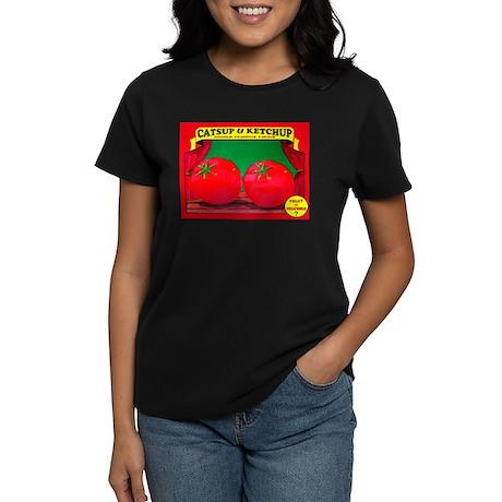 Produce Sideshow: Catsup Women's Dark T-Shirt