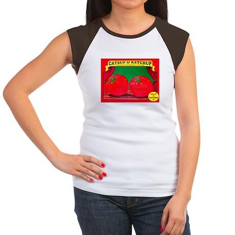 Produce Sideshow: Catsup Women's Cap Sleeve T-Shir