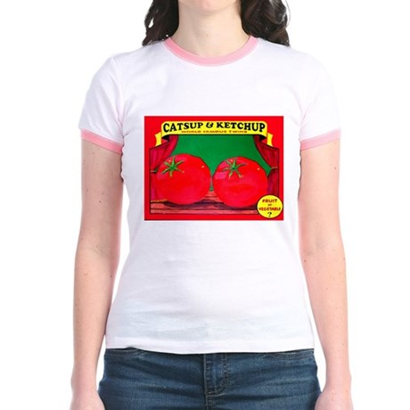 Produce Sideshow: Catsup Jr. Ringer T-Shirt