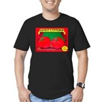 Produce Sideshow: Catsup Men's Fitted T-Shirt (dar