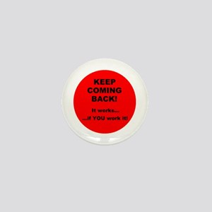 Keep Coming Back! Button
