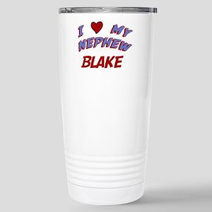 I Love My Nephew Blake Stainless Steel Travel Mug