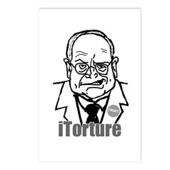 Cheney: iTorture Postcards (Package of 8)