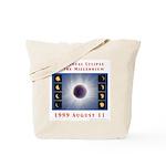 1999 Total Solar Eclipse Tote Bag