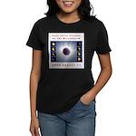 1999 Total Solar Eclipse Women's Dark T-Shirt