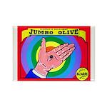 Produce Sideshow: Jumbo Olive Rectangle Magnet