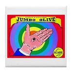 Produce Sideshow: Jumbo Olive Tile Coaster